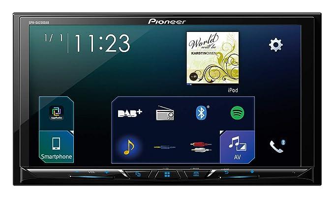 Pioneer SPH-DA230DAB Pantalla Multimedia, Negro, Única: Amazon.es ...