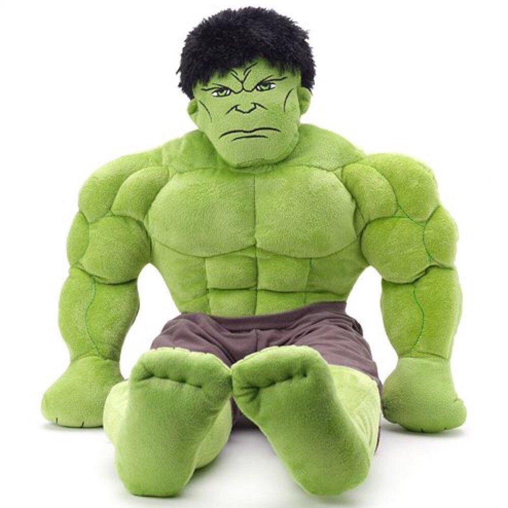 Marvel Avengers Plush Hulk Pillow Buddy - 22''