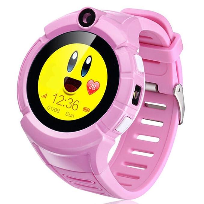 turnmeon niños GPS Tracker reloj inteligente con cámara SOS ...