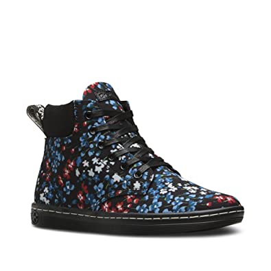 Dr. Martens Women's Maelly Padded Collar Boot Kelly Floral T Canvas 3 M UK