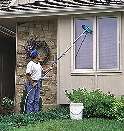 Mr. LongArm 0405 Soft Flow-Thru Brush  Blue\