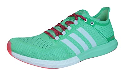adidas CC ClimaChill Cosmic Boost Mens Running Sneakers / Shoes-Green-8