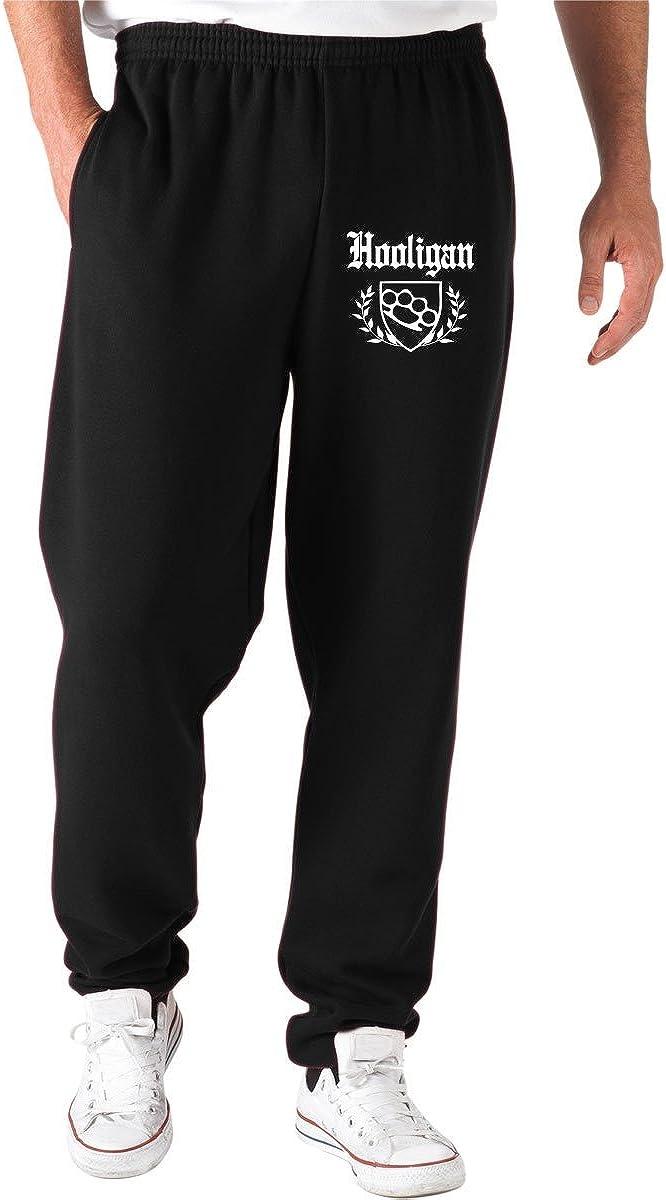 T-Shirtshock Jogginghose Schwarz OLDENG00524 Hooligan Knuckle Crest