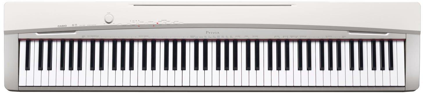 CASIO Privia CASIO 電子ピアノ Privia パールホワイト調 鍵盤数88標準ピアノ形状鍵盤 電子ピアノ PX-130WEパールホワイト調B002GK2QRC, 住用村:91b272a4 --- publishingfarm.com