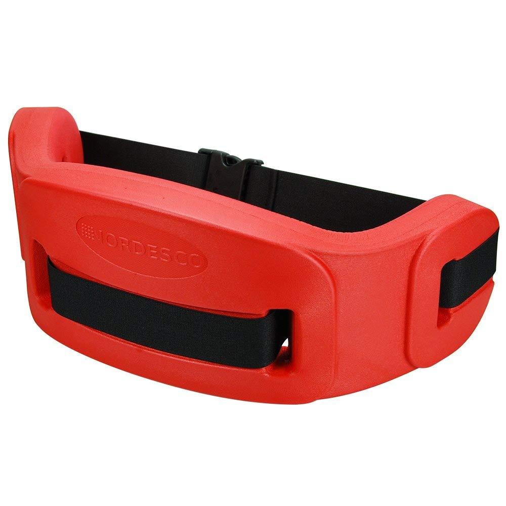 Nordesco Aqua Fitness Belt, Large, Red