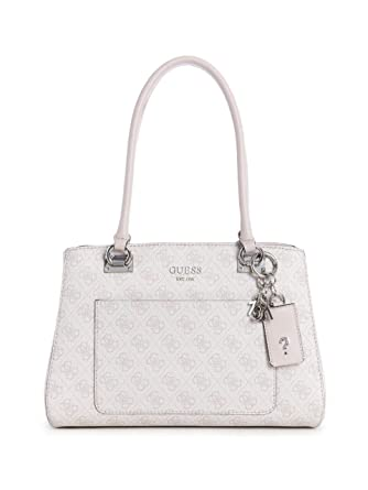 aeef7699c4a GUESS Kathryn 4G Girlfriend Satchel, Blush: Handbags: Amazon.com