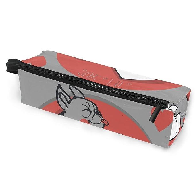 COOSUN - Estuche para lápices y gafas, diseño de Yin Yang, con cremallera y lazo para colgar: Amazon.es: Oficina y papelería
