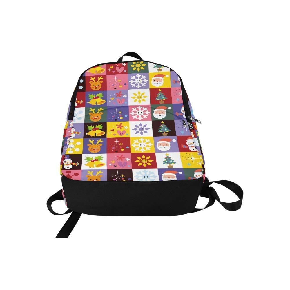 Süßes Weihnachtsmuster-beiläufige Daypack-Reisetasche College-Schulrucksack für Männer Männer Männer und Frauen B07L62QZN4 Daypacks Sonderpreis d4ec85