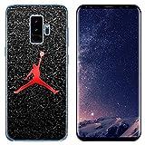 Ailiber Galaxy S9 Slim Case, Basketball Sport Design MJ Slim Fit Anti-Scratch Anti-Finger Print Lightweight Soft TPU Protector Cover for Samsung Galaxy S9 (5.8 inch) - Basketball