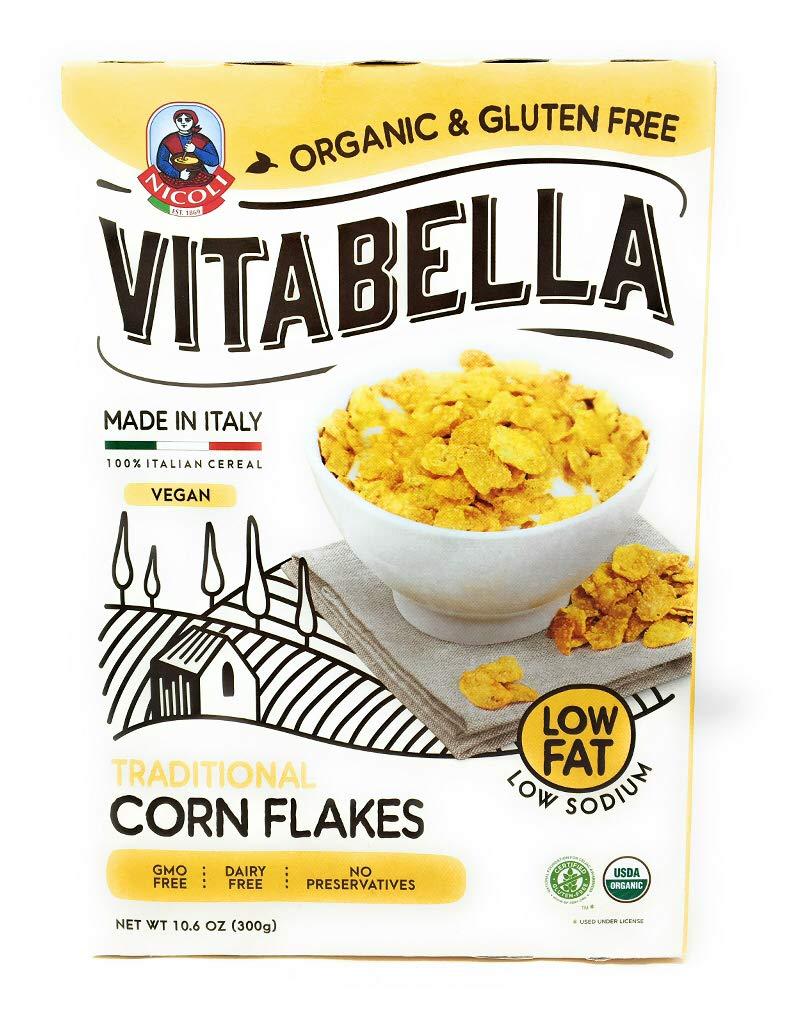 Vitabella, Cereal Traditional Corn Flakes Organic, 10.6 Ounce
