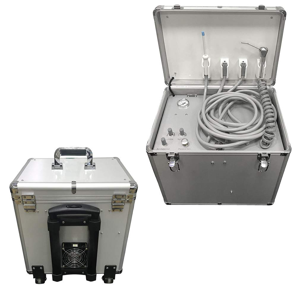 Pevor 4H Mobile Portable Delivery Unit Rolling Case/Three Way Syr/Suction System