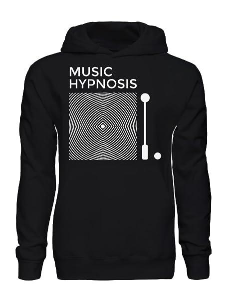 Da Hypnosis Con Cappuccio Uomo MediumAmazon Felpa Music it Graphke jL3Rc5Aq4