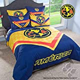 NEW BOYS CLUB AMERICA LIGA MX AGUILAS FOOTBALL SOCCER YELLOW COMFORTER QUEEN