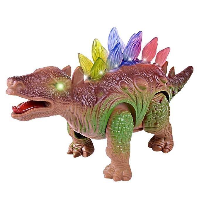 ZARLLE-Juguete Juguete Eléctrico Dinosaurio Set Tyrannosaurus Rex de Dinosaurios Figuras Decoracion Maqueta Dinosaurio Regalo para Niños Niñas 3 4 5 Años+: ...