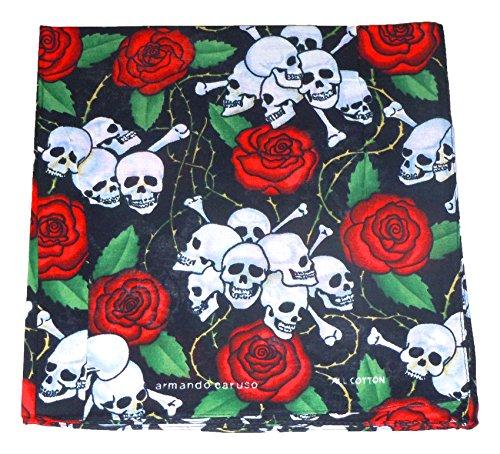 Americana Duck (Bandana 12 Pack (Skulls & Roses))