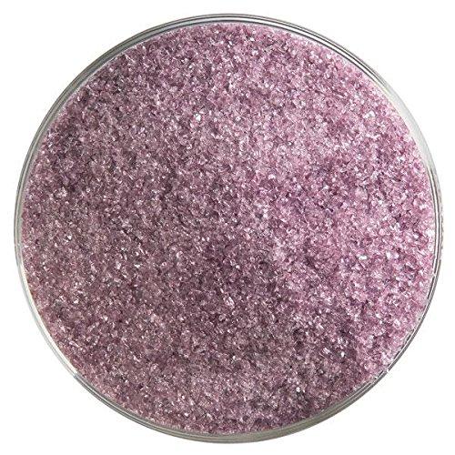 Bullseye Light Violet (Light Violet Transparent Fine Frit - 4oz - 90COE - Made from Bullseye Glass)