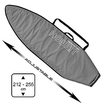 HOWZIT – Funda Surf Ajustable de 7 0 A 8 6 Gris – Convient
