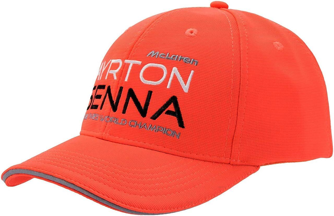 Ayrton Senna Authentic Red McLaren Hat
