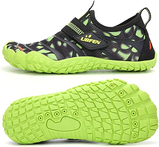UBFEN Kids Water Shoes Girls Boys Sport Aqua Shoes Quick-Dry Barefoot Shoes  for Outdoor Beach Swimming Surfing Diving: Amazon.co.uk: Shoes & Bags