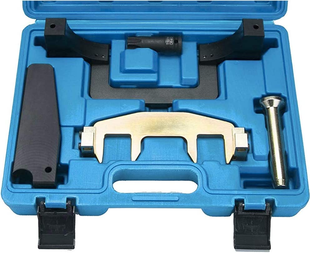 FreeTec Camshaft Alignment Engine Timing Tool Chain Fixture Tool Kit Compatible with Mercedes Benz M271