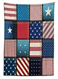 Farmhouse Decor Tablecloth American Flag