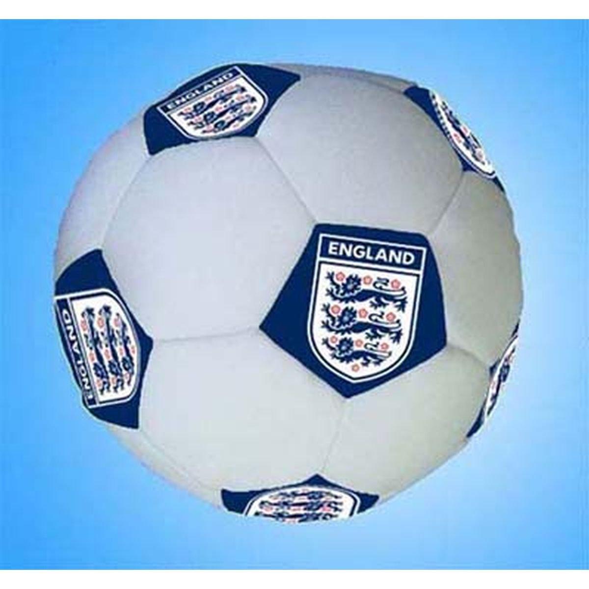 Zap - Cojín, diseño de balón de fútbol de Inglaterra: Amazon ...