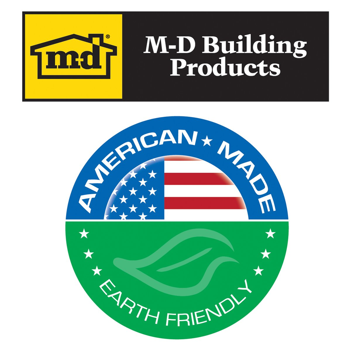 M-D Building Products 93203 4-Inch by 20-Feet Adhesive Back Vinyl Wall Base, White by M-D Building Products