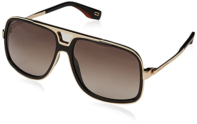 15a3dde13c78d0 Lunettes de Soleil Marc Jacobs MARC 265 S BLACK LIGHT BROWN SHADED femme