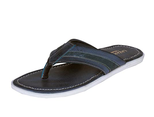 92cf75dd2 Lazard from Khadims Mens Faux Leather Sandals available at Amazon for Rs.800