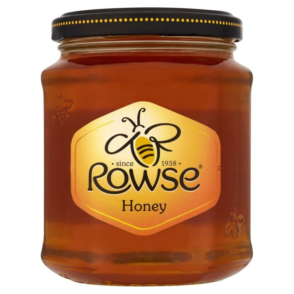 Rowse Pure & Natural Honey (340g) - Pack of 2