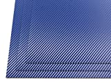HolsterSmith: HOLSTEX Sheet - .080-12'' x 12'' - Carbon Fiber/Tactical Texture - Police Blue (3 Pack)