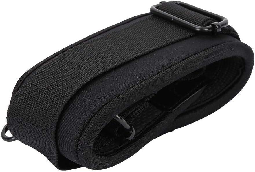 Oumij Camera Shoulder Strap Length Adjustable Elastic Camera Shoulder Strap Pad Anti-Slip for Electric Guitar Bass for Computer Camera Bag Microfiber Lens Cleaning Cloth