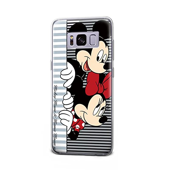 detailed look e00cf 5a995 GSPSTORE Samsung Galaxy S8 Plus Case,Mickey Minnie Mouse Disney Cartoon  Protector Cover for Samsung Galaxy S8 Plus #02