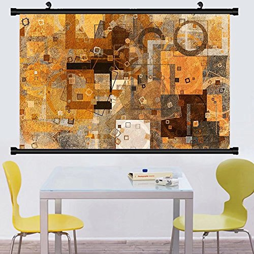Gzhihine Wall Scroll Posterabstract grunge rough blended texture overlay for web page graphic design catalog wallpaper ,Wall Art Paiting on Canvas 40
