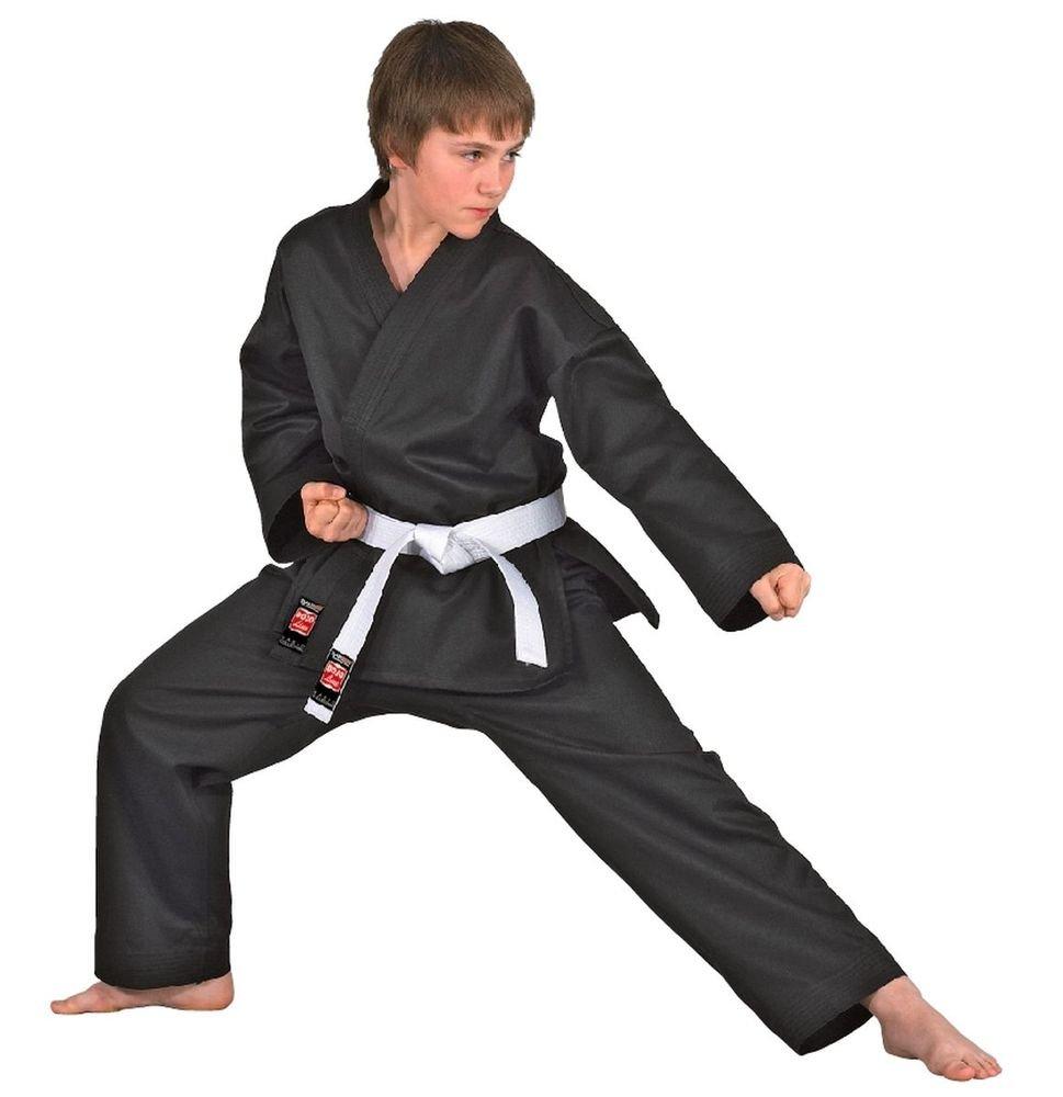 DanRho Karate-Gi schwarz