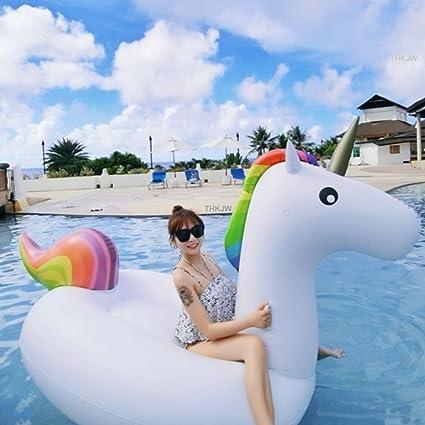 thkjw la nueva generación de gigante hinchable, diseño de unicornio, piscina de verano de