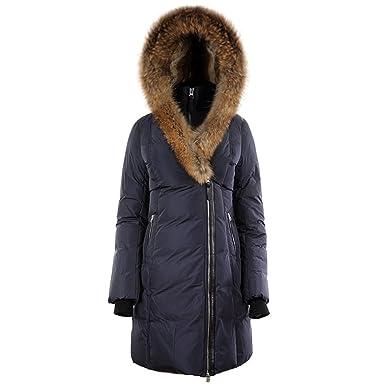 Mackage Ladies Down Coat w/Raccoon & Rabbit Fur TRISH Ink at ...