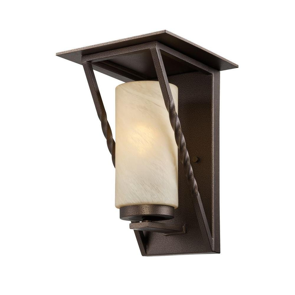 Designers Fountain ES31931-FBZ Parkview Outdoor Wall Light