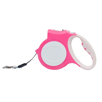 580957a94e7 Amazon.com   HBuir Retractable Dog Leash with LED Flashlight