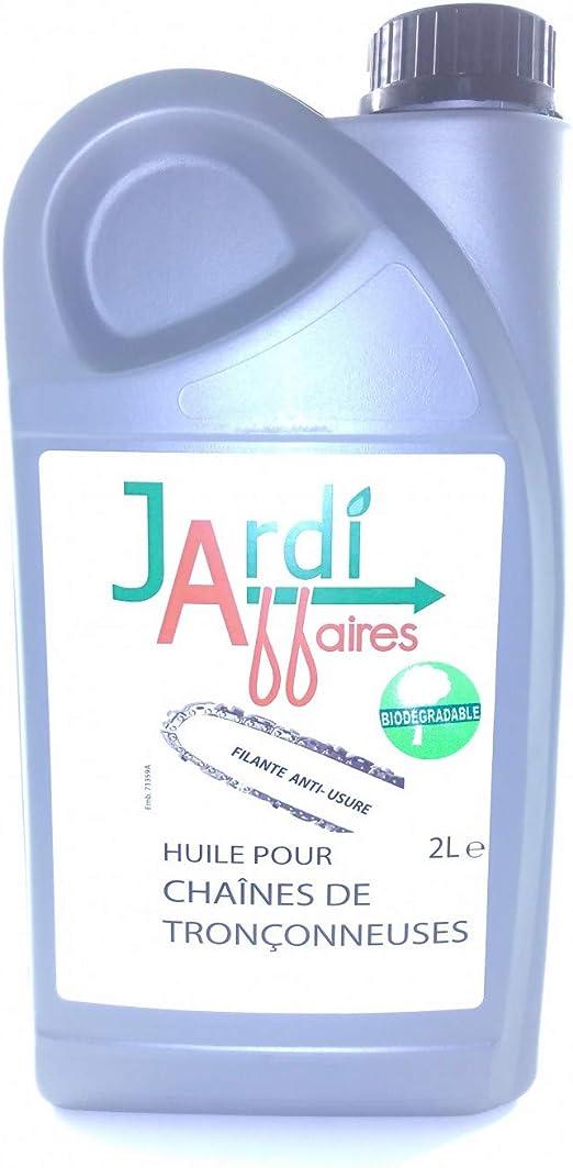 Jardiaffaires - Aceite para cadena de motosierra, biodegradable, 2 ...