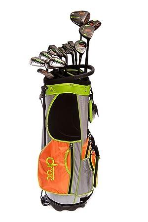 Droc Men13 pcs juego de palos de golf y bolsa de Golf ...