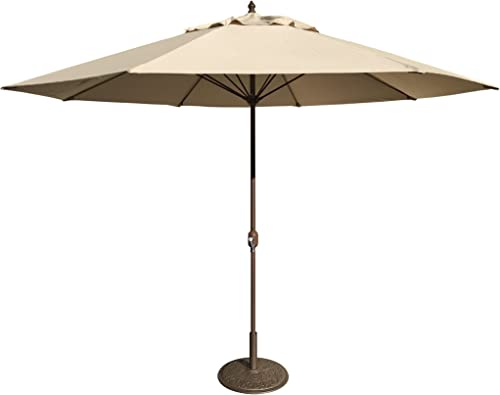 Tropishade 11 Umbrella with Premium Beige Olefin Cover
