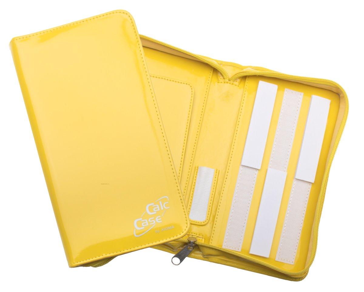 Schutztasche für Grafikrechner, Lack, gelb DynaTech
