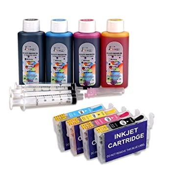 29XL tinta recargable y 4 x 100 ml botella tinta compatible para ...