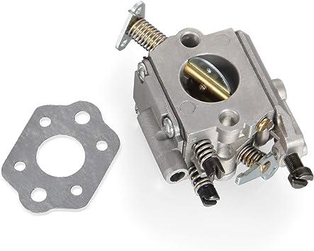 Hippotech C1Q-S126B Carburatore con Tubo Filtro Carburante Carburatore per Stihl MS200 MS200T 020T MS 200 MS 200T Motosega Sostituisce 1129 120 0653