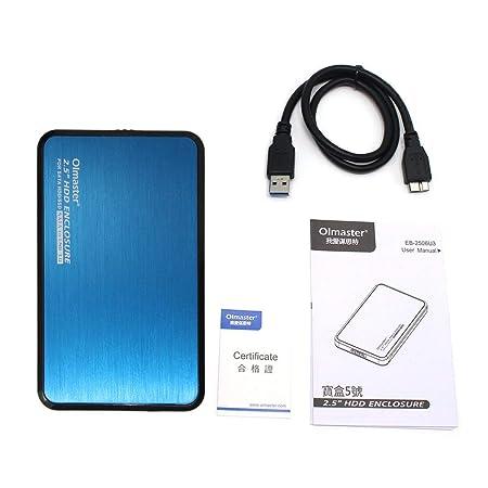 Kitechildhood EB-2506U3 - Carcasa para Disco Duro SSD (USB 3.0, 2 ...