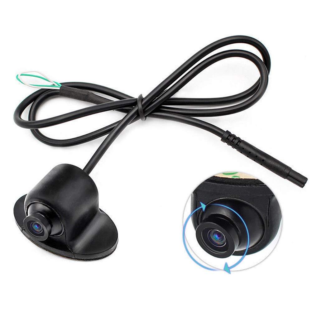 Meteorax Telecamera A Visione Frontale A 360 /°,Visione Notturna A 12V Mini CCD Corm HD