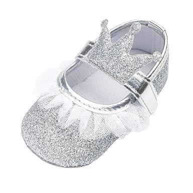 LiucheHD-Scarpe Primi Passi Bambini Scarpe Battesimo del Bambino Bianco  Scarpe morbide Sole Bambino Scarpe Stringate 0-18  Amazon.it  Abbigliamento 0f7eaee0c8e