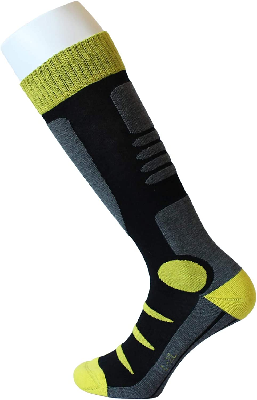 Feetalk Ski Snowboard Socks Thermal Merino Wool /—Outdoor Activity Skiing Mens and Womens Socks