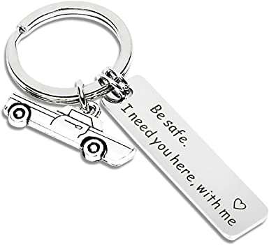 Fathers Day Gifts From Wife Daughter To Dad Husband Drive Safe Keychain I Need You Anniversary Valentines Day Gifts New Car Gifts Birthday Gifts For Trucker Boyfriend Gift For Him Her